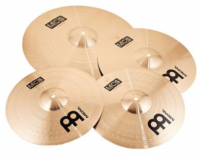 סט מצילות MEINL MCS CHRIS ADLER CYMBAL SET