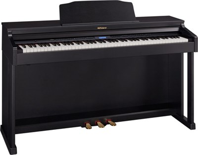 HP601 Contemporary Black Roland פסנתר חשמלי