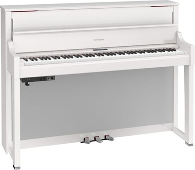 LX-17 Polished White Roland פסנתר חשמלי