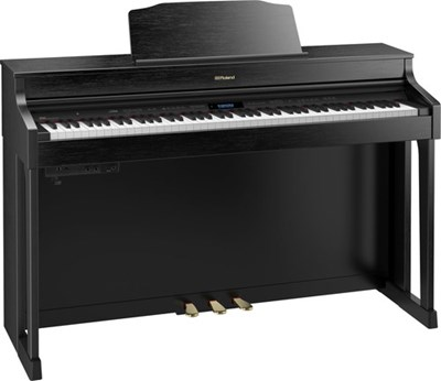 HP603A Contemporary Black Roland פסנתר נייח קומפקטי