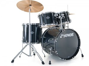 מערכת תופים SONOR SMART Stage 2 BLACK מתצוגה