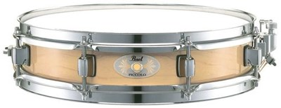 תוף סנר פיקולו 13X3 מייפל Piccolo Maple Snare Natural Pearl
