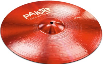 מצילת קראש 18 Color Sound 900 Red Crash Paiste