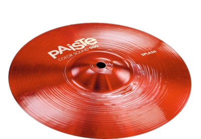 מצילת ספלאש 12 Color Sound 900 Red Splash Paiste