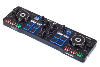 קונטרולר קומפקטי DJControl Starlight מבית Hercules DJ